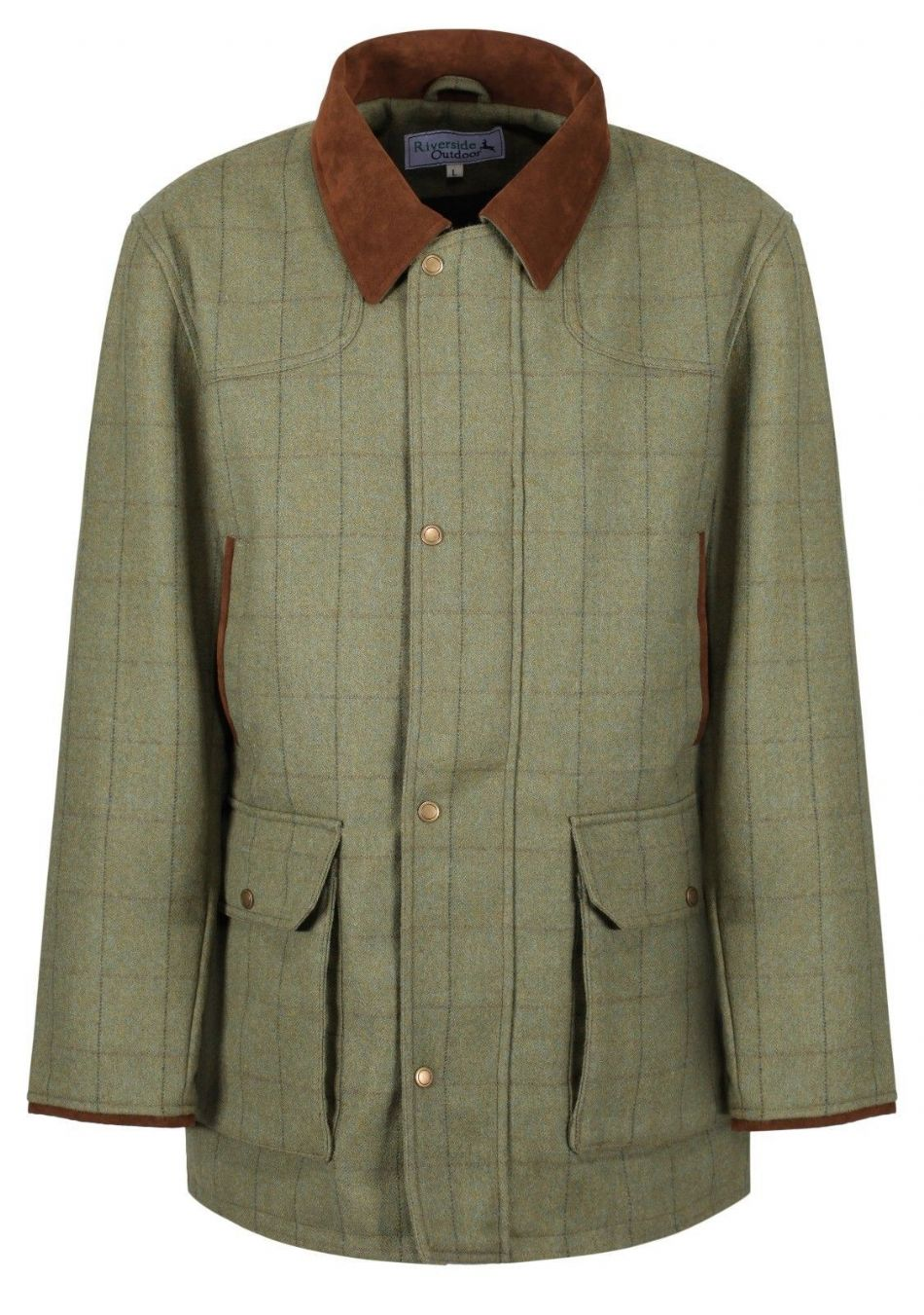 Kensington 100% Wool Tweed Shooting Jacket Coat Traditional Tailored Quality New